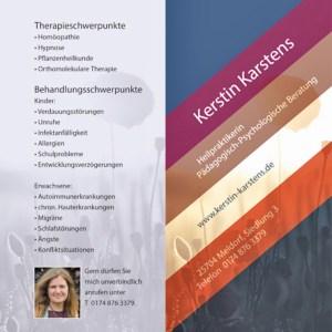 Flyer Kerstin Karstens