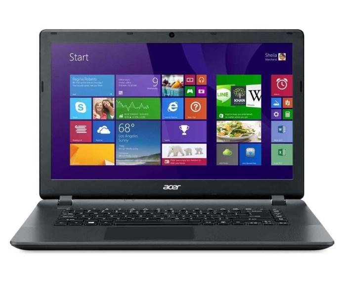 Spesifikasi Dan Harga Acer Aspire ES1-511-C59V