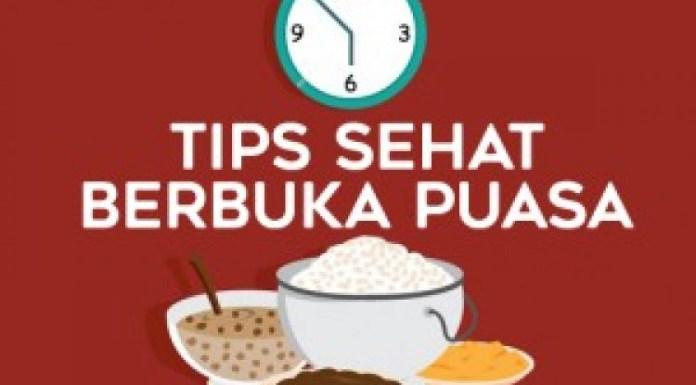 Tips Berbuka Puasa Sehat