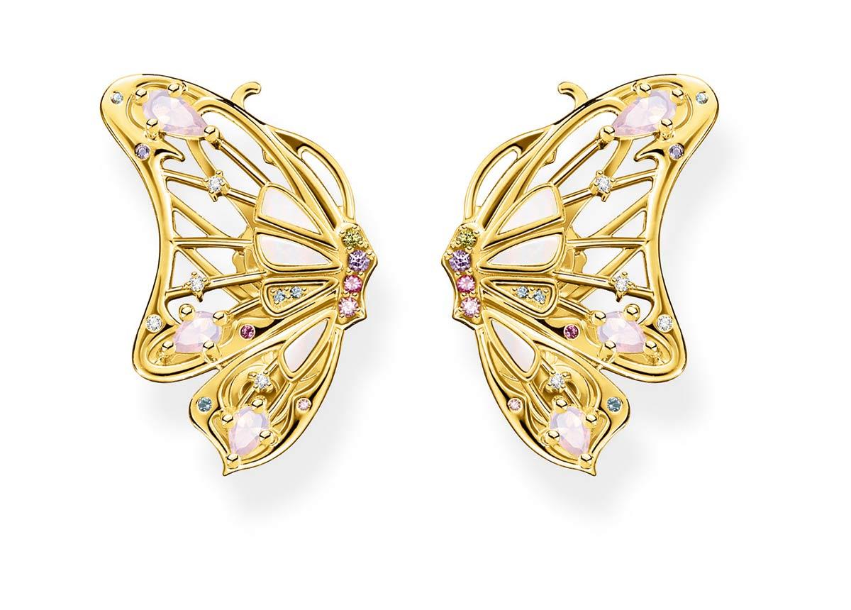 Diese tollen Schmetterling-Ohrringe gibt es für 339 Euro VK.