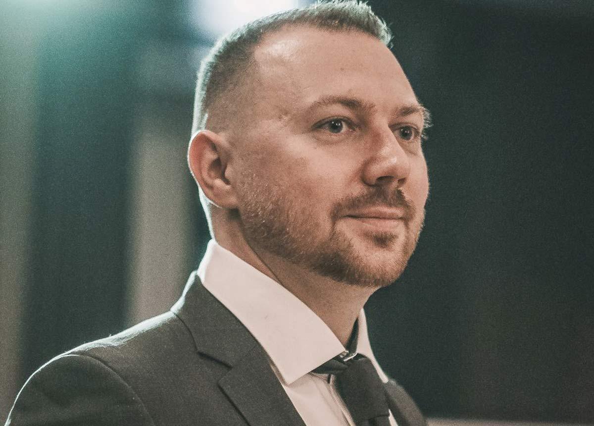 Geschäftsführer Sergej Wismann.