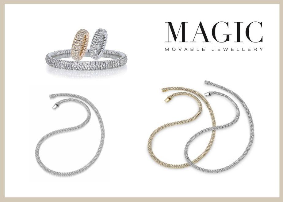 Die neuste Kollektion mit formschönen, besonderen Edelsteinen in außergewöhnlichen Farben entfacht die Begeisterung jeder Frau.