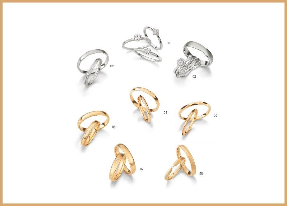 Die Ringe werden in den historischen Werkstätten des Unternehmens in Detmold produziert.