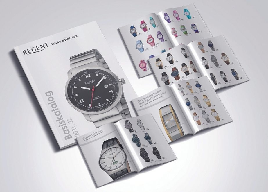 Mit dem neuen Katalog wird den Anregungen der Händler entsprochen: Die Uhren sind höherwertiger.