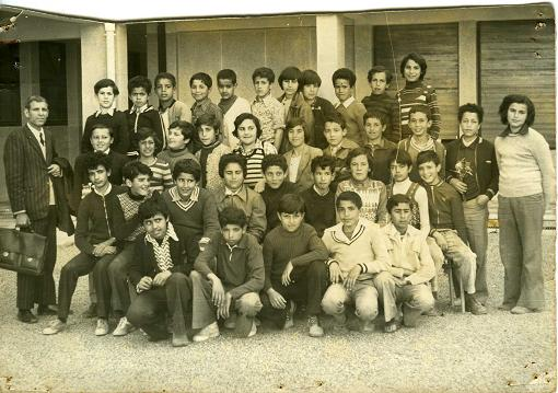 Photo de classe - Technicum Mahi- Blida 1973