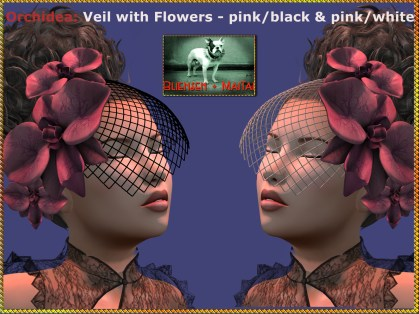 Bliensen - Orchidea - veil - pink