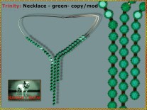 Bliensen - Trinity - Necklace - green