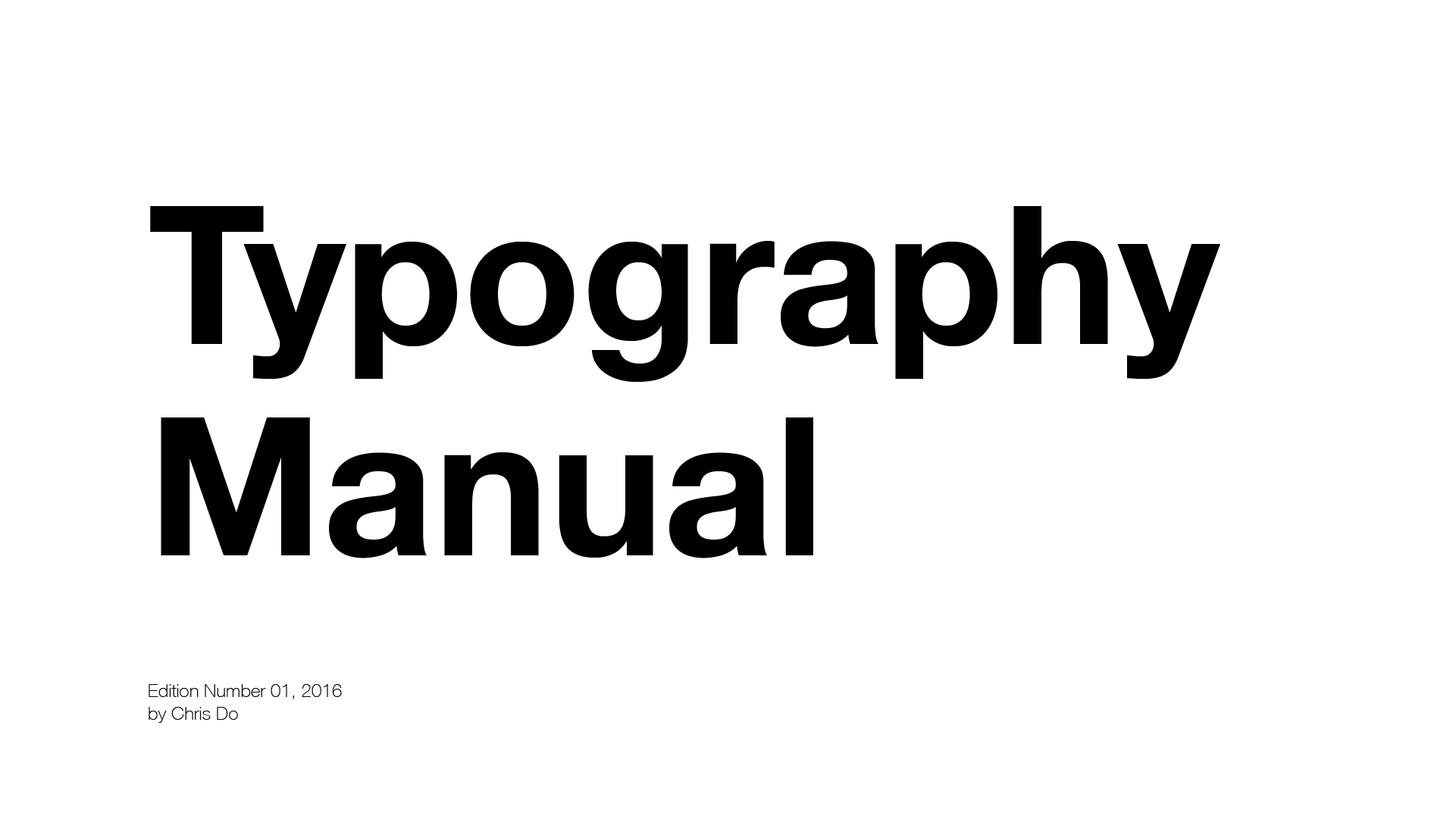 10 Typography Rules