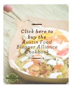 Austin Food Blogger Alliance Community Cookbook