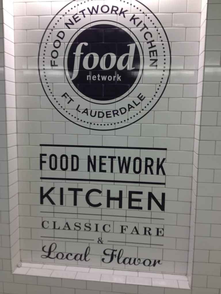 Popped into the Food Network Kitchen for a bite upon my arrival in Fort Lauderdale, FL