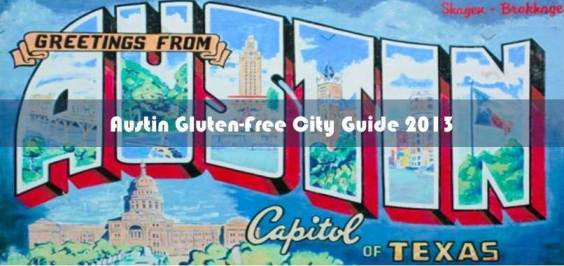 Austin City Guide 2013: Gluten-Free Dining