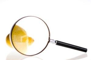lemon-under-magnifying-glass