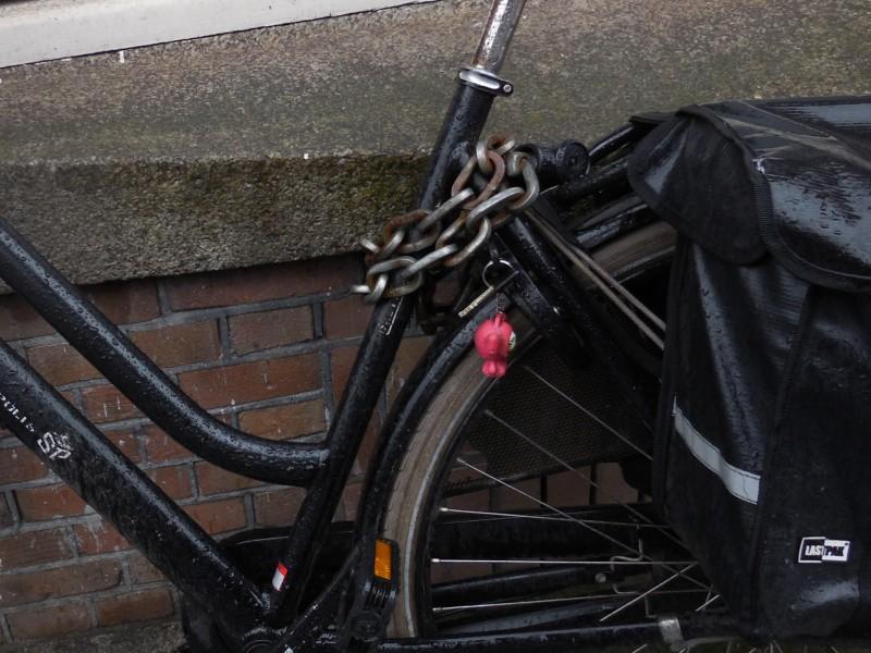 Fietssleuteltje vergeten, Amsterdam West