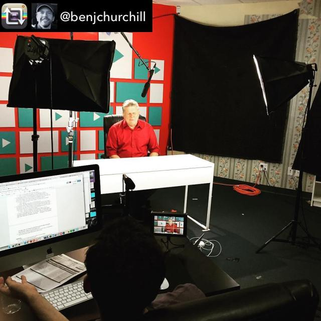Repost from benjchurchill  Behindthescenes at YouTubers React