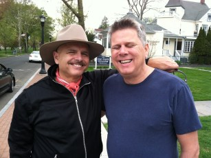 April 15, 2012 - Tommy Edison & Joe Pantoliano after filming their interview