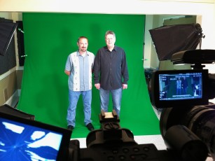 May 8, 2012 - Tommy Edison & his friend Norton film a green screen shoot