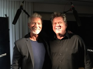 "Aug. 14, 2016 - Tommy Edison and Stephen Lang at the ""Don't Breathe"" press junket"