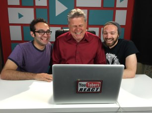 "Sept. 18, 2016 - Tommy Edison at the Fine Bros' ""YouTubers React"" shoot"