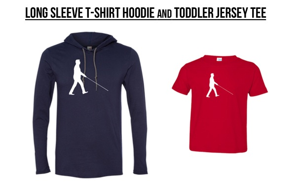 Long Sleeve T-Shirt Hoodie & Toddler Jersey Tee