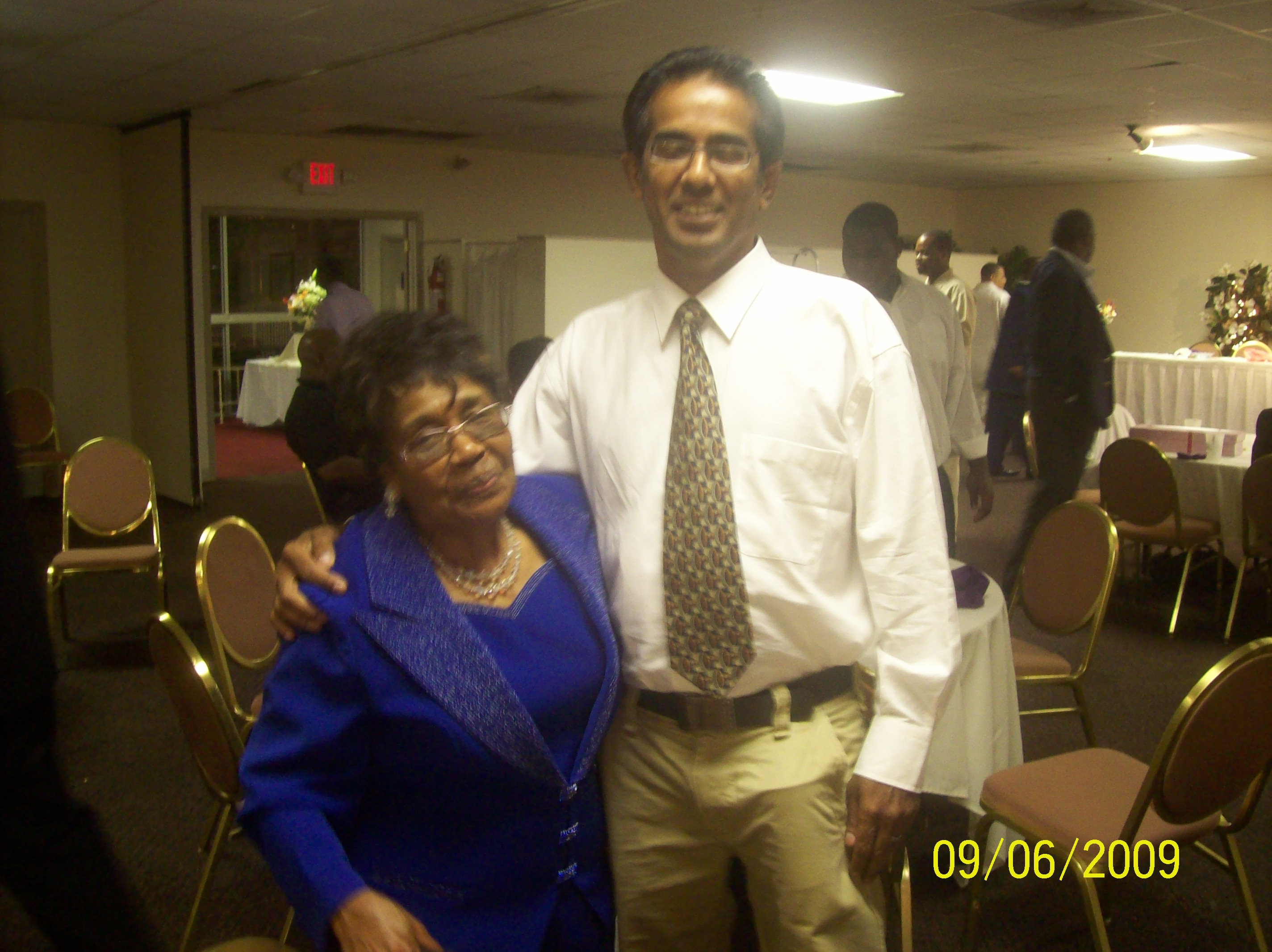 My great aunt and M