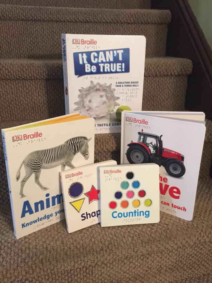 Check out these Braille books that are perfect for parents to read to their children!
