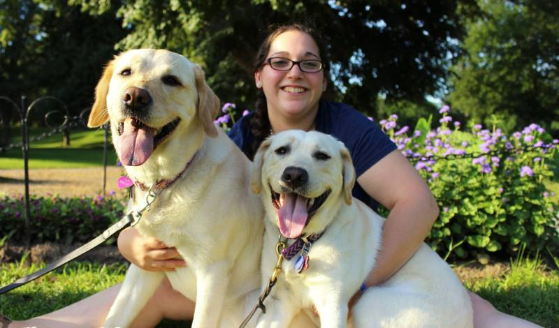 Guiding Eyes For the Blind – Puppy Raiser Profiles – Leah's FATE