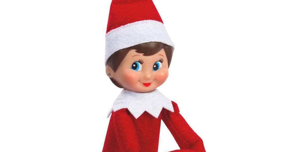 yes blind children you may touch your elves on the shelf a letter rh blindmotherhood com elf shelf movie elf shelf meme