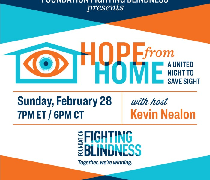 Hope From Home: A United Night to Save Sight