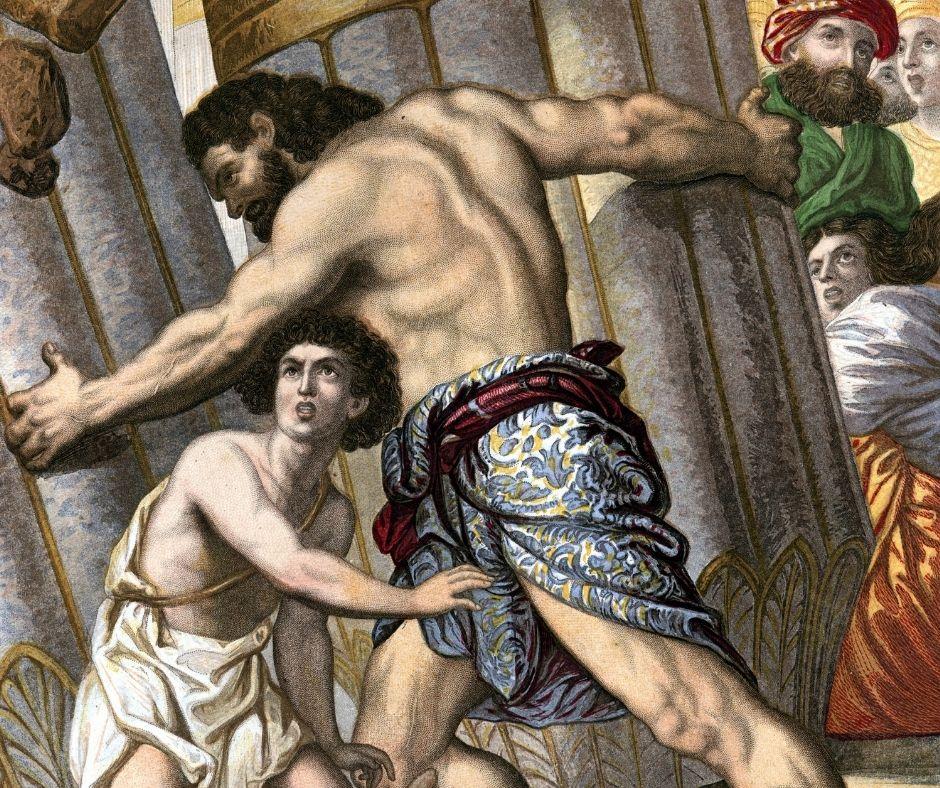 To Bind & Blind – Samson