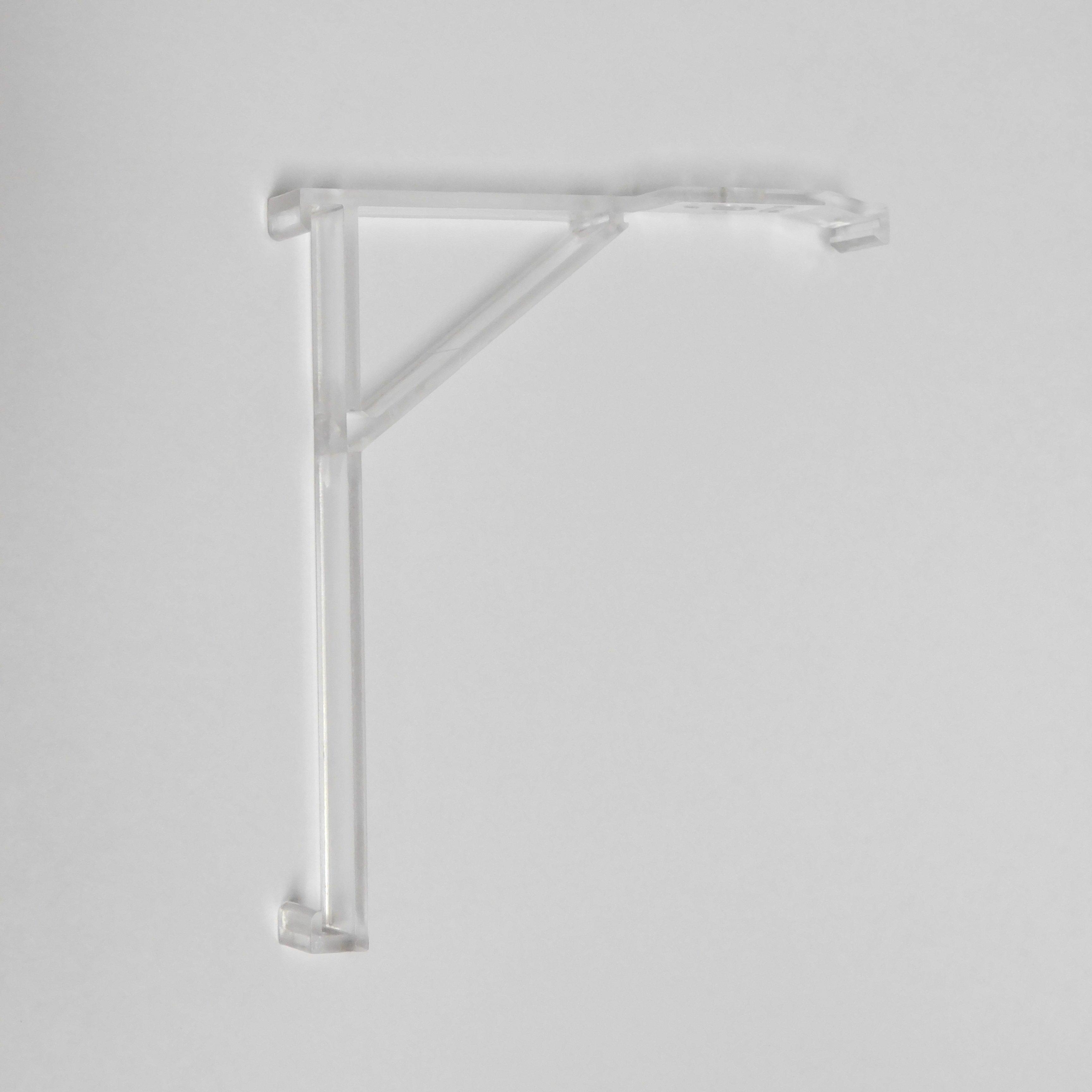 1 3 8 Inch Vertical Blind Panel Valance Clip 2