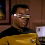 Geordi, Jon and Twitter