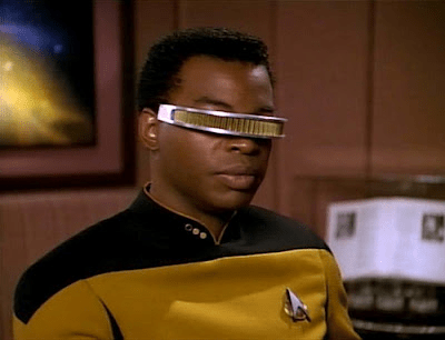 LeVar Burton as Geordi LaForge