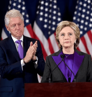 Hillary Clinton delivers her concession speech