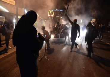 Portland Rioters Rage Against Trump