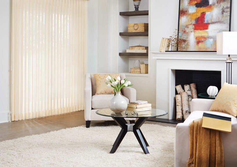 custom vertical blinds and shades
