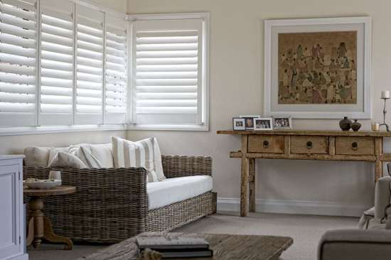Highprofile Wood Shutters. Custom Interior Plantation Shutters - Blinds Brothers