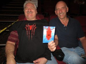 Jay and Ron at The Amazing Spider-Man 2 Screening