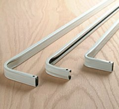 traverse rods curtain rods