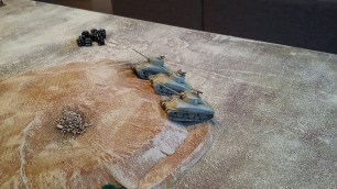 29 - Shermans move onto the objective