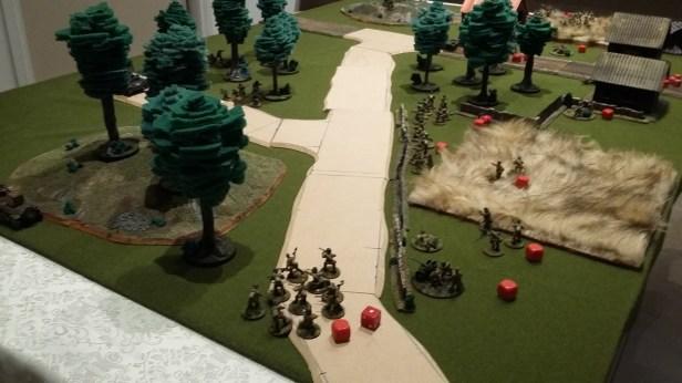 25 - Soviet left flank