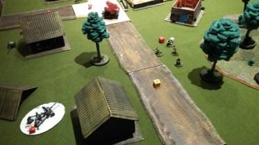 25 - Left flank