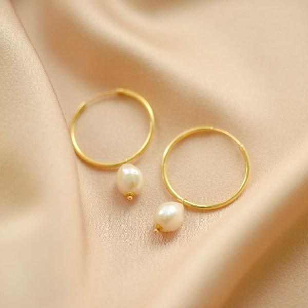 pendientes de perlas-blingbling