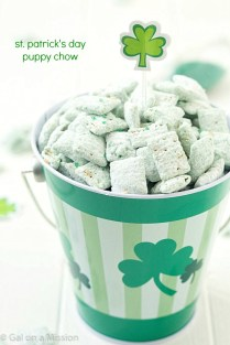 St. Patrick's Puppy Chow