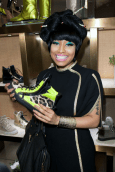 nicki minaj Giuseppe Zanotti Design Fashion's Night Out