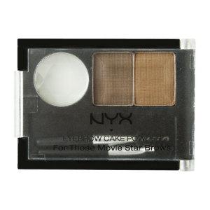 NYX Brow Kit on Blinging Beauty