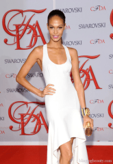 Model Joan Smalls attends the 2012 CFDA Fashion Awards at Alice Tully Hall on June 4, 2012 in New York City 2
