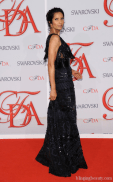 Padma Lakshmi attends the 2012 CFDA Fashion Awards at Alice Tully Hall on June 4, 2012 in New York City.