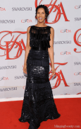 Padma Lakshmi attends the 2012 CFDA Fashion Awards at Alice Tully Hall on June 4, 2012 in New York City
