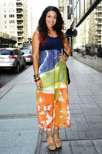 Jordin Sparks Good Day American August 2012 Getty Images