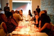 Top Model invades Top Chef Morimoto's Restaurant to Kick Off New York Fashion Week